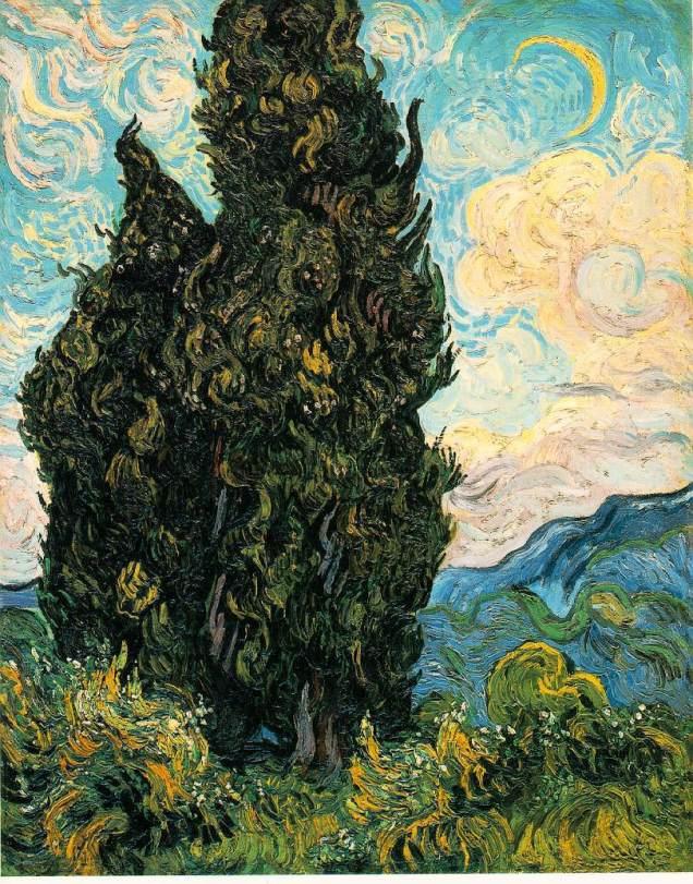 gogh.cypresses